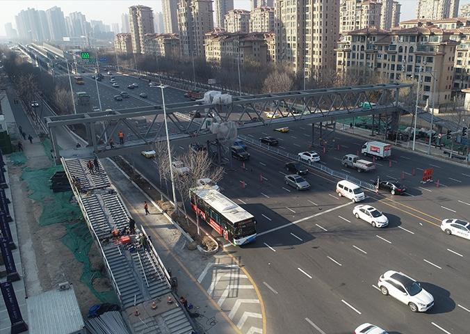 沈阳绮红街天桥
