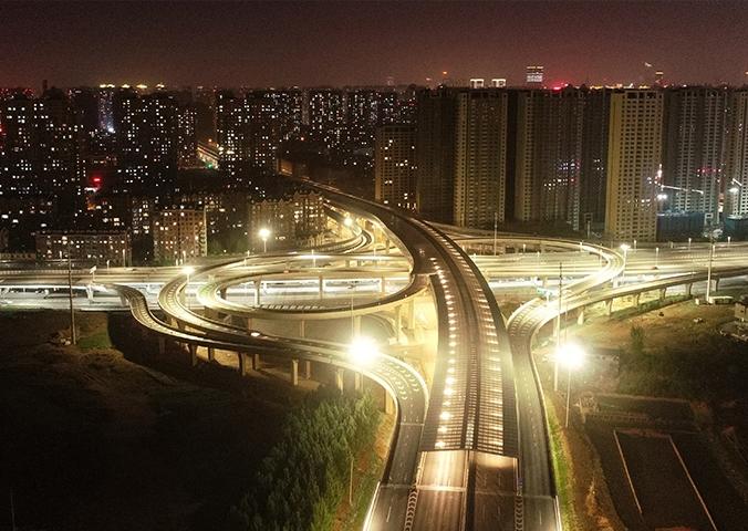 沈阳快速路胜利大街高架桥工程