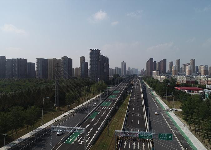 沈阳浑南大道快速路工程
