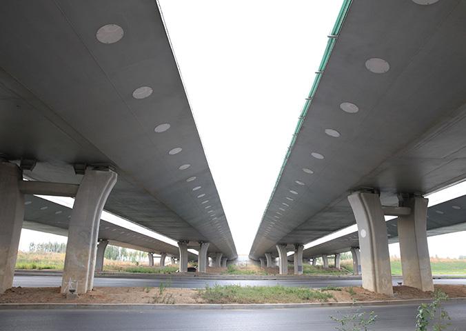 沈本大道与四环公路桥