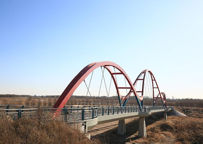 石佛寺水库自行车路桥