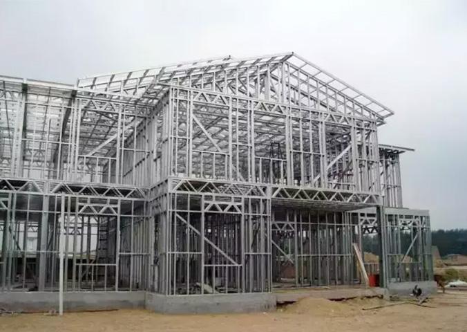 丹东轻钢别墅建筑
