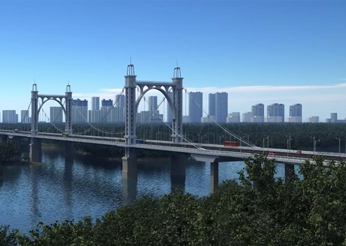 东塔跨浑河桥