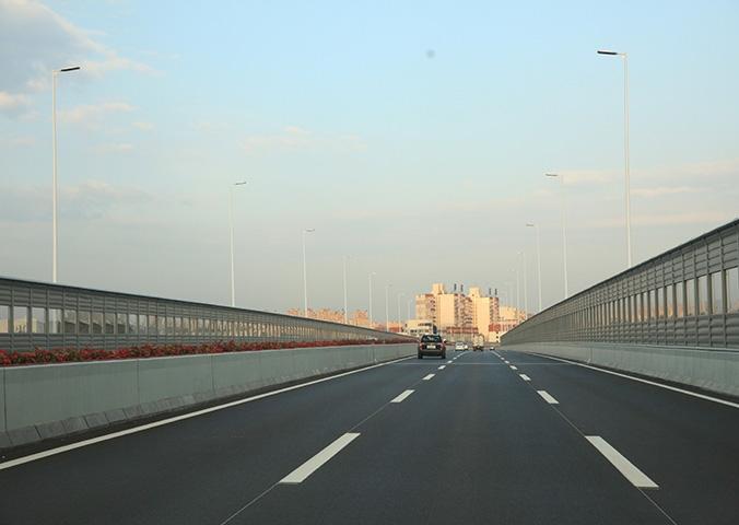 桥梁钢结构(迎宾路高架桥)